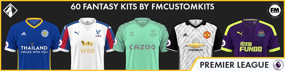 Premier League Custom Kits FM21