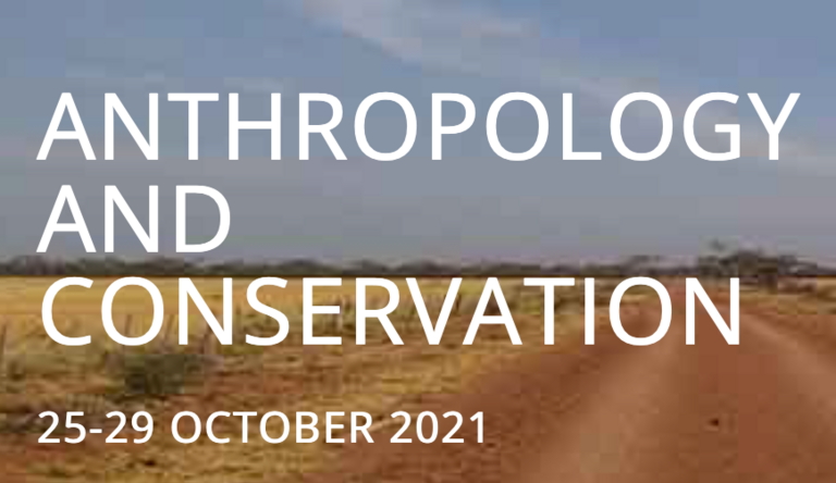 Anthropology and Conservation Virtual Conference