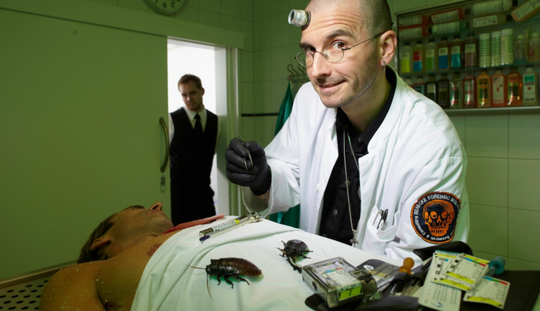 Forensic Entomology: Insect Deputies can Solve Crimes