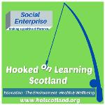 Hooked on Learning Scotland logo