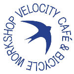 Velocity Cafe and Bicycle Workshop logo