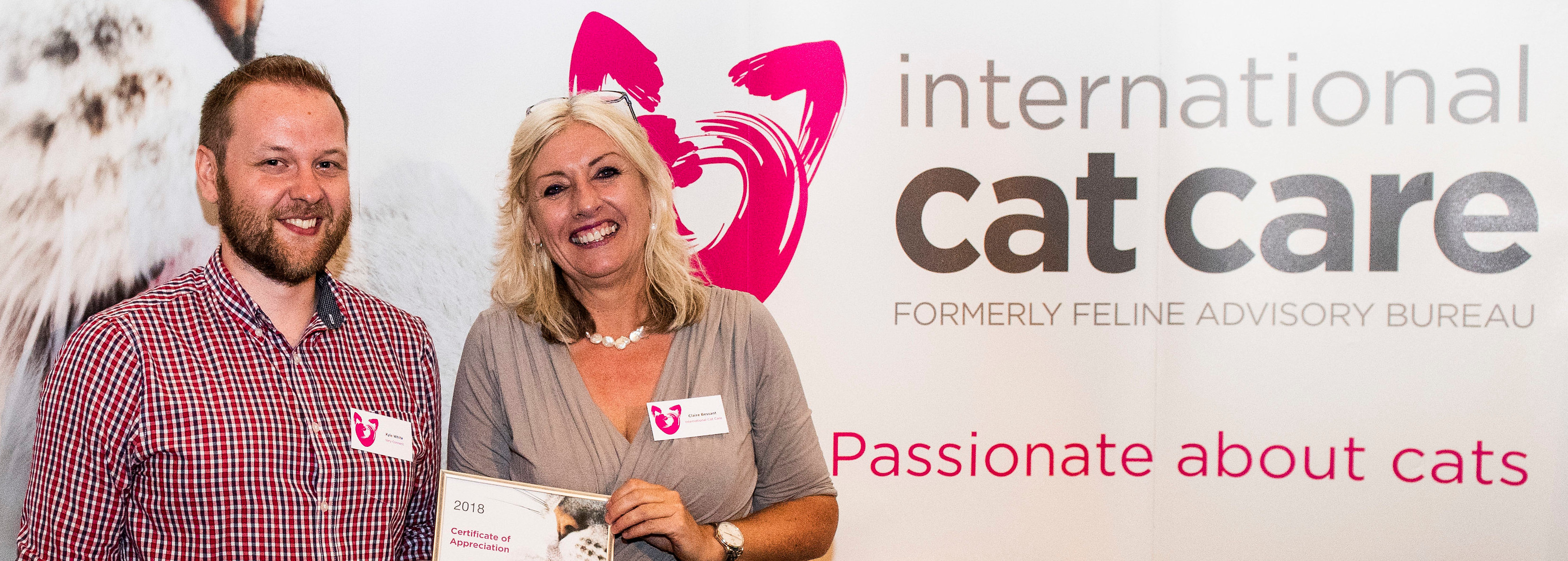 CEOs VeryConnect International Cat Care