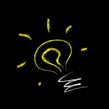 Digital membership transformation project lightbulb